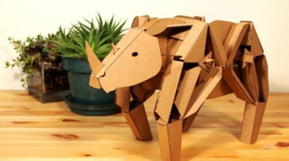 Kinetic-Creatures-Cardboard-Walking-Animal-Sculptures-2-600x429