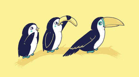 cool-funny-graphic-design-chicquero-tucan-penguin