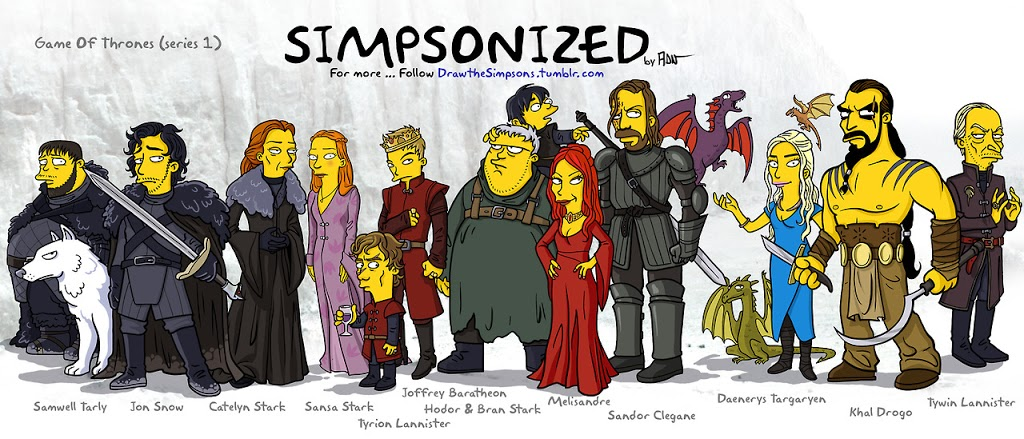 ► Simpsons of Thrones