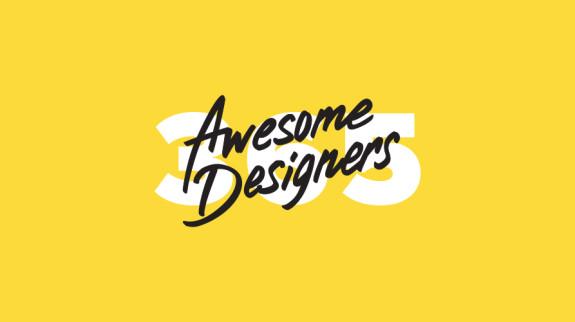Logo do projeto 365 awesome designers