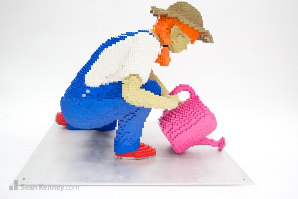 Esculturas de lego