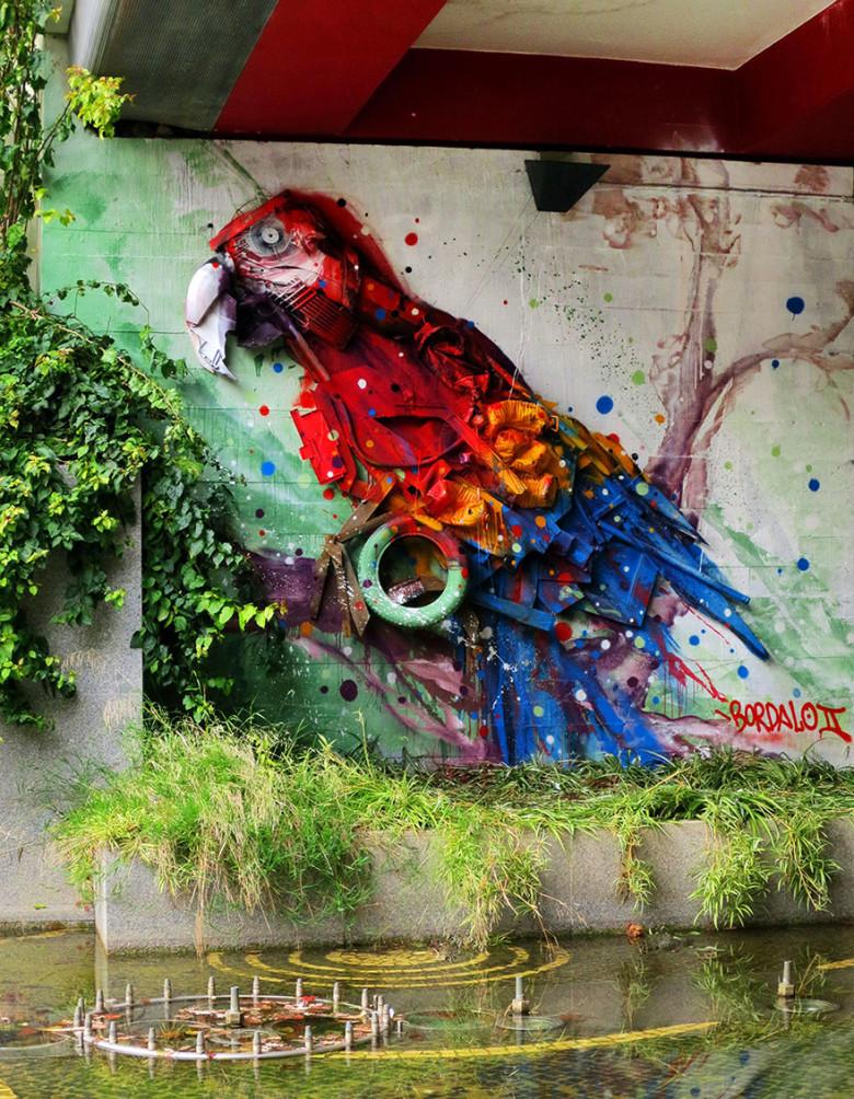 intervenção-artur bordalo-lixo-reciclável-eco-grafite-12