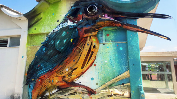 intervenção-artur bordalo-lixo-reciclável-eco-grafite-3