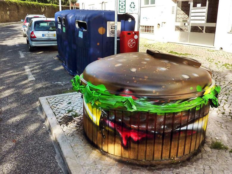 intervenção-artur bordalo-lixo-reciclável-eco-grafite-8
