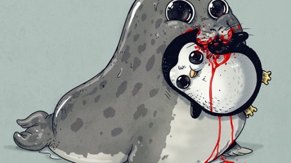 predadores-ilustrações-alex-solis-animais-2