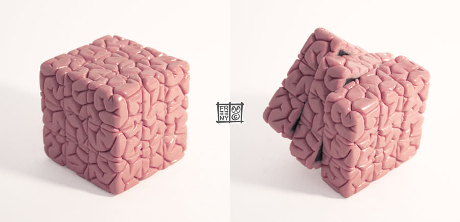rubiks_cube_brain_sculpt_by_freeny-d39rg5l
