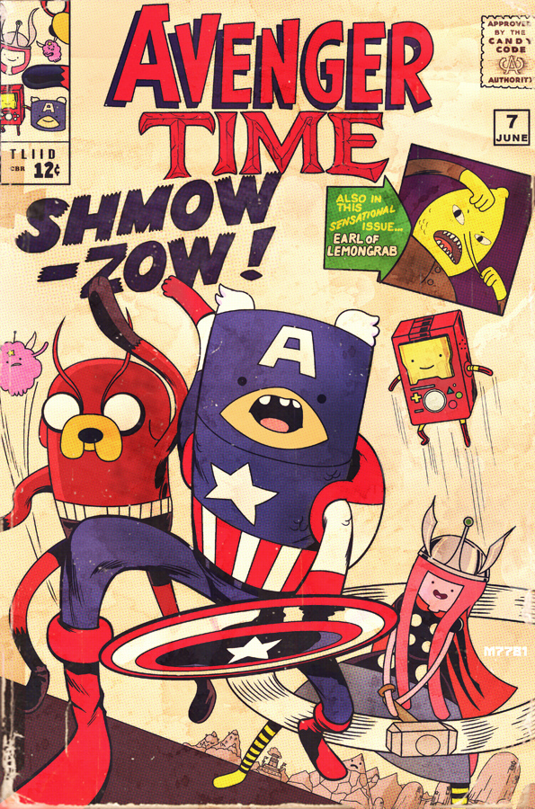 Adventure Time Avengers
