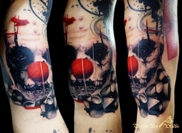 tattoo-clown-trash_polka