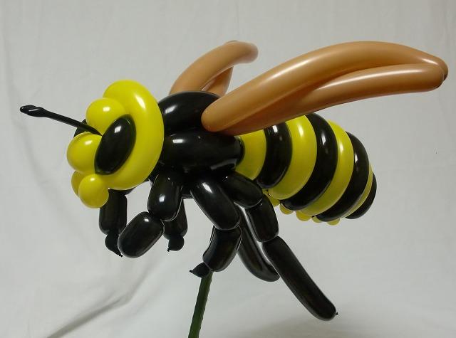 Esculturas de animais em balões