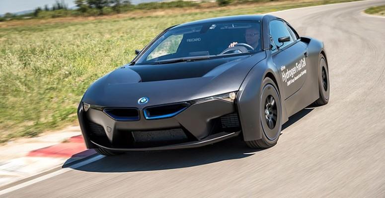 BMW i8 Carro conceito movido a hidrogênio