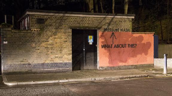 Gerra épica graffiti Mobstr
