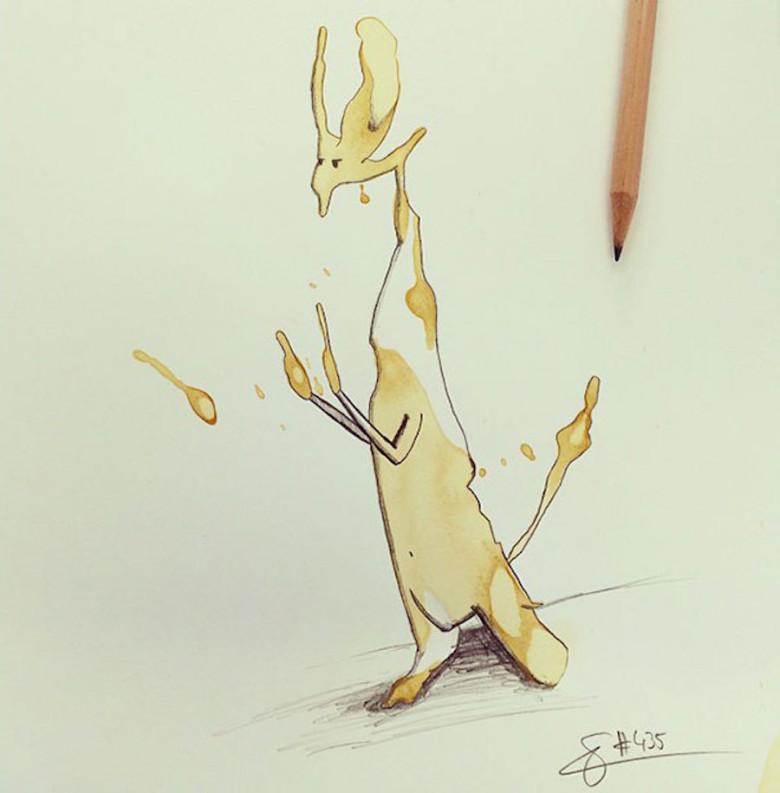 monstros-de-café-ilustração-criatividade-7