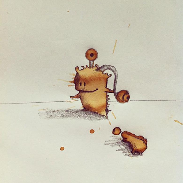 monstros-de-café-ilustração-criatividade-9