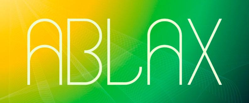 Ablax free font