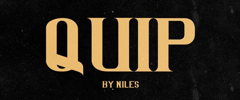 Quip free font