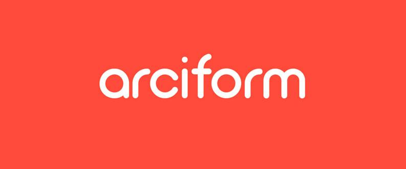 Arciform free font
