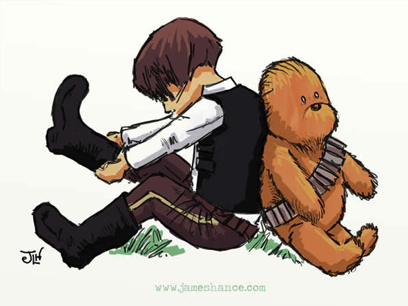Star wars no estilo do ursinho pooh-1
