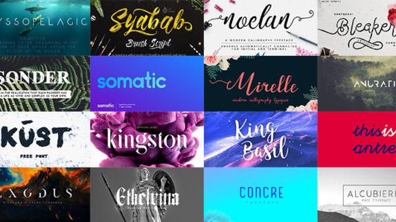 Best free fonts 2016