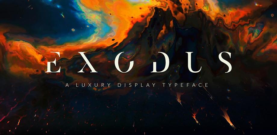 exodus-free-font