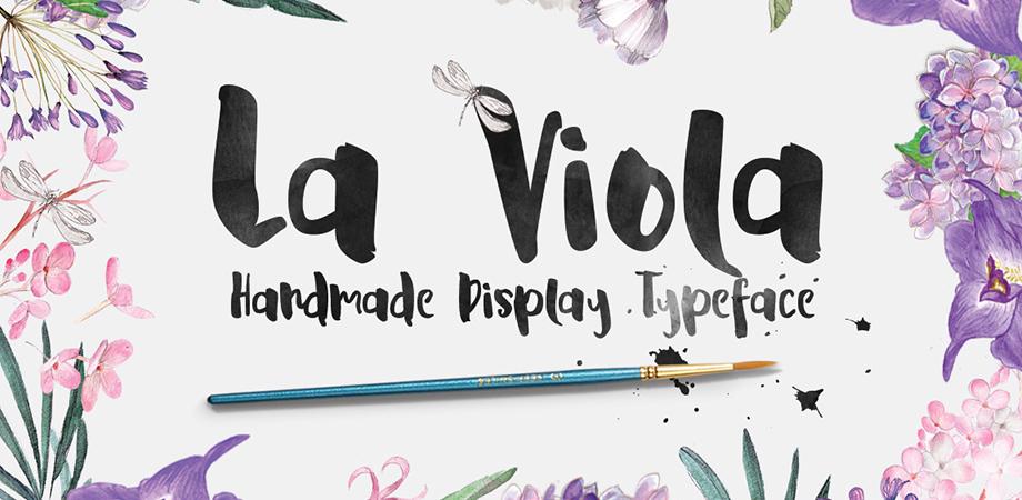 la-viola-free-font