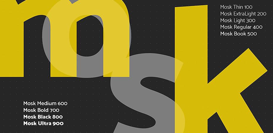 mosk-free-font