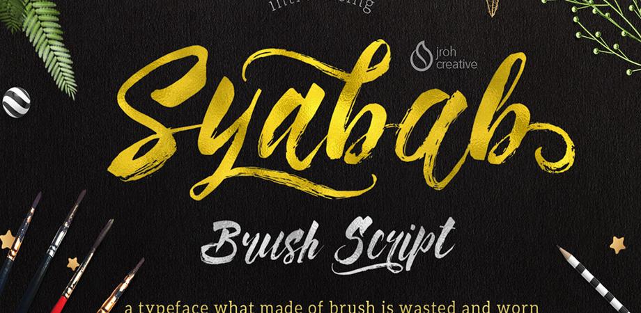 syabab-free-font
