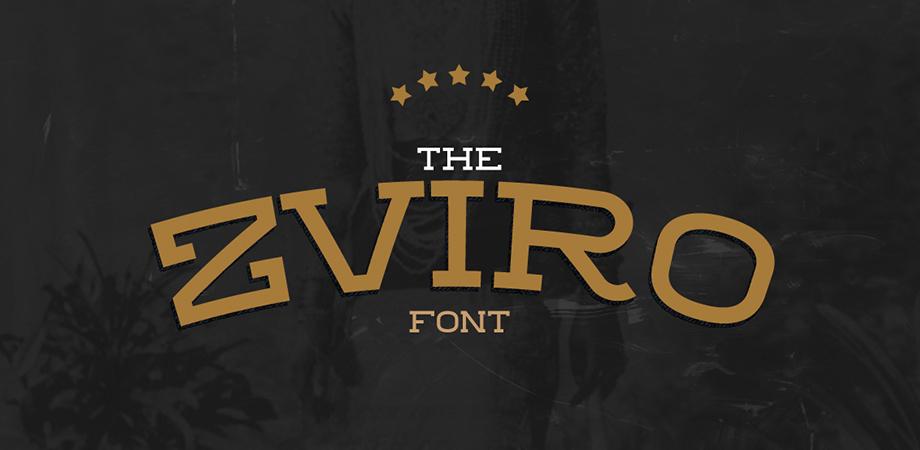 zviro-free-font