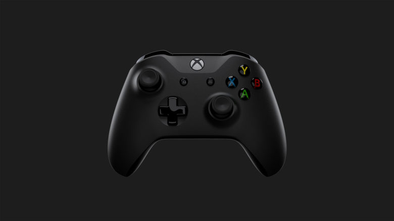 Xbox One X Controller Front Dark Gray