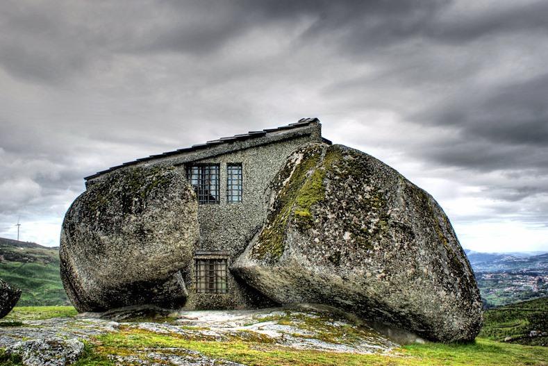 Casa dos Flintstones em Portugal