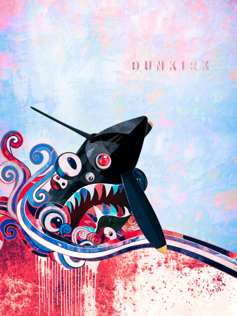 Dunkirk - inspired by Takashi Murakami, designed by Brandon Lee:Shutterstock