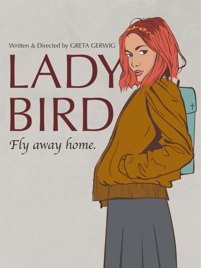Lady Bird - inspired by Mel Ramos, designed by Brenda Luu:Shutterstock