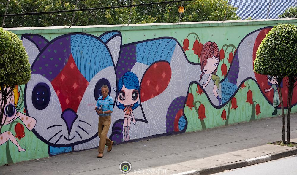 Graffitoed Walls / Grafites