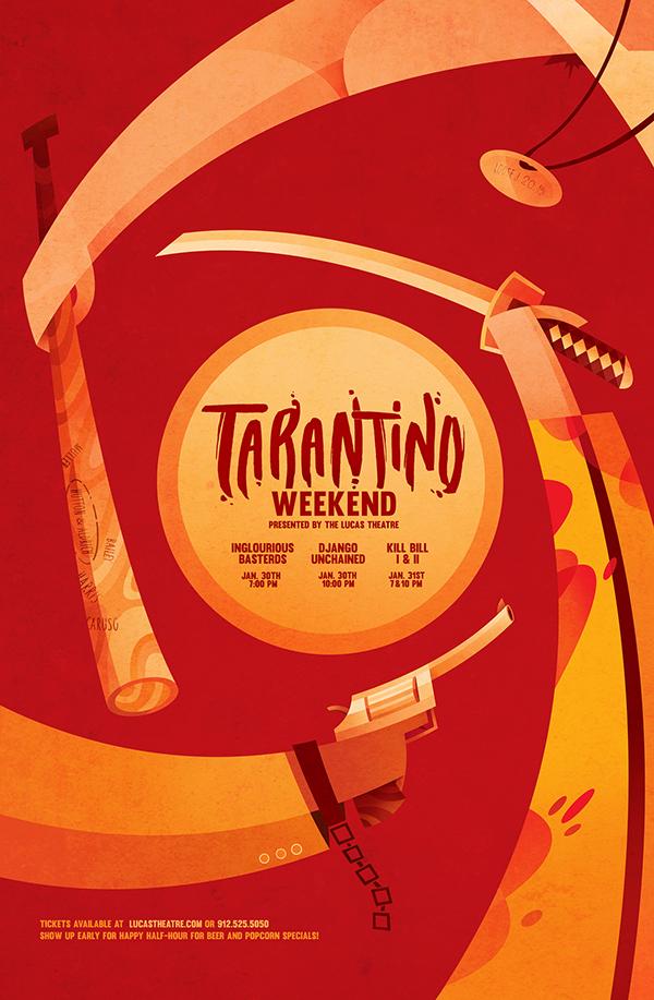Sean-Loose-Lucas-Theatre-Event-Posters-Tarantino