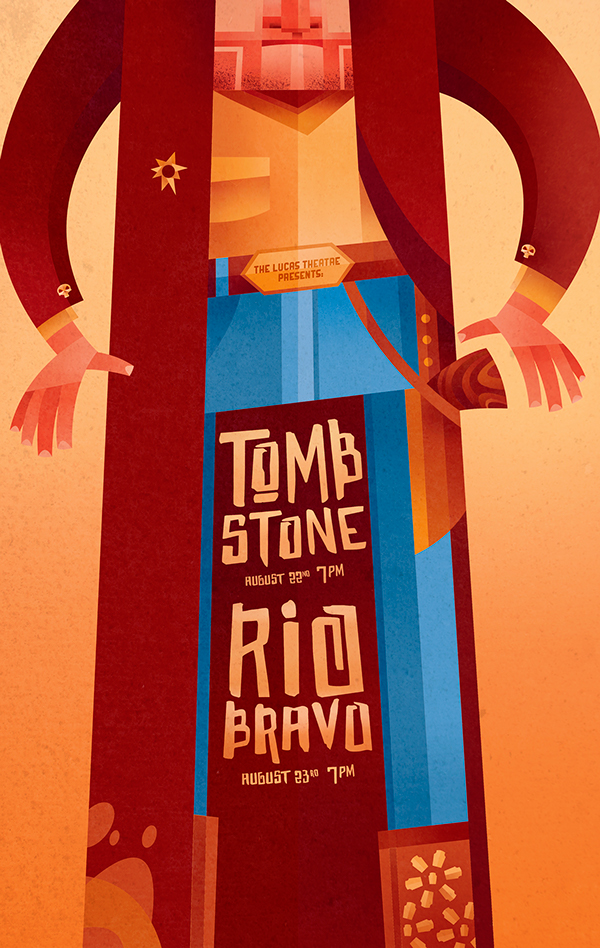 Sean-Loose-Lucas-Theatre-Event-Posters-Tombstone