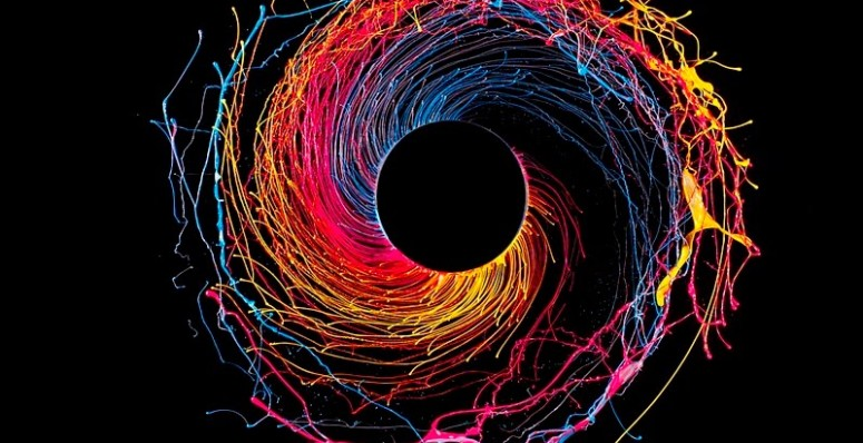fabian oefner black hole