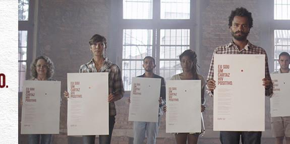 Os cartazes da campanha