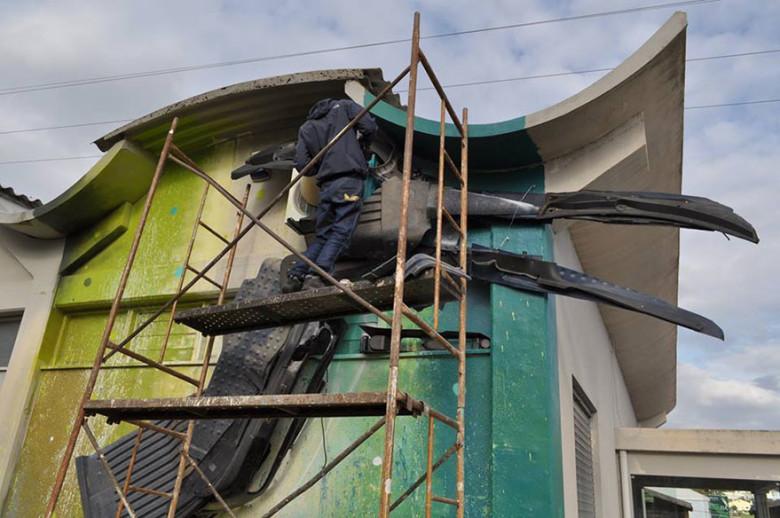 intervenção-artur bordalo-lixo-reciclável-eco-grafite-4