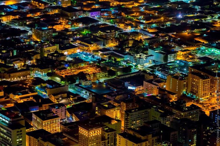 Aerial view Los Angeles
