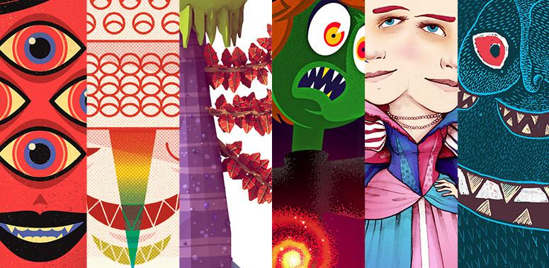 Ilustrações Projeto Monstros