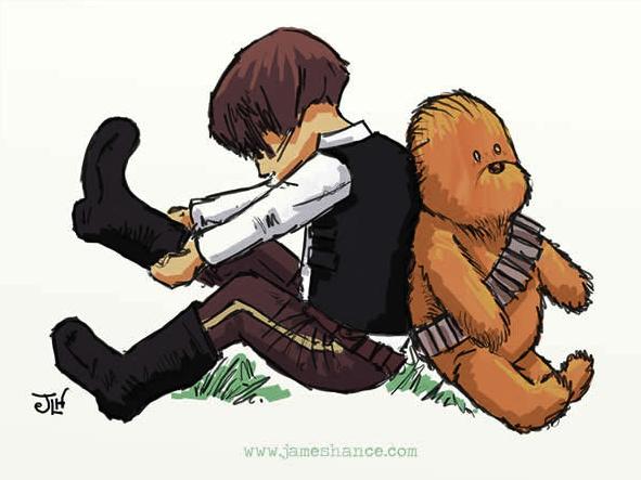 Star wars no estilo do ursinho pooh-1
