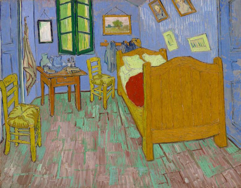 pintura-van gogh-quarto-chicago-2