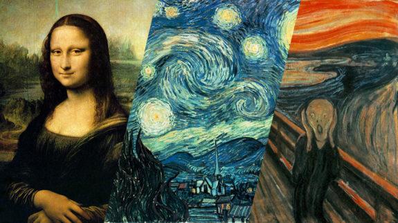 Pinturas mais famosas do mundo
