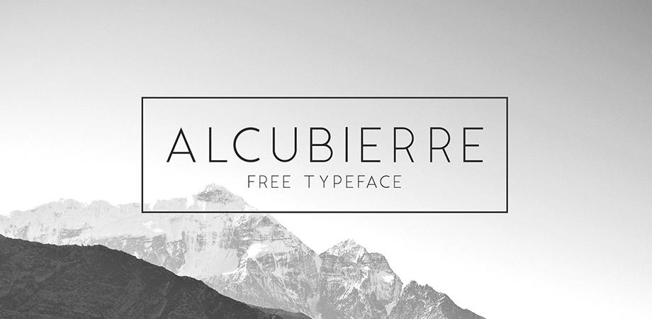 alcubierre-free-font