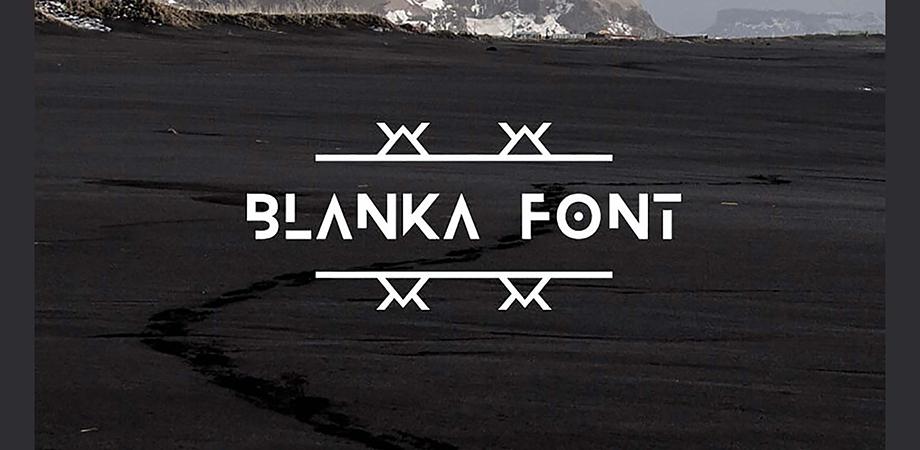 blank-font-free