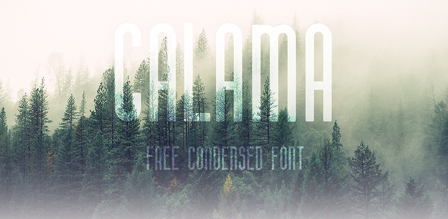 calama-free-font