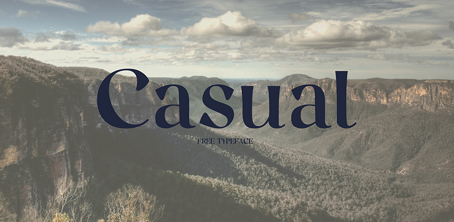 casual-free-font