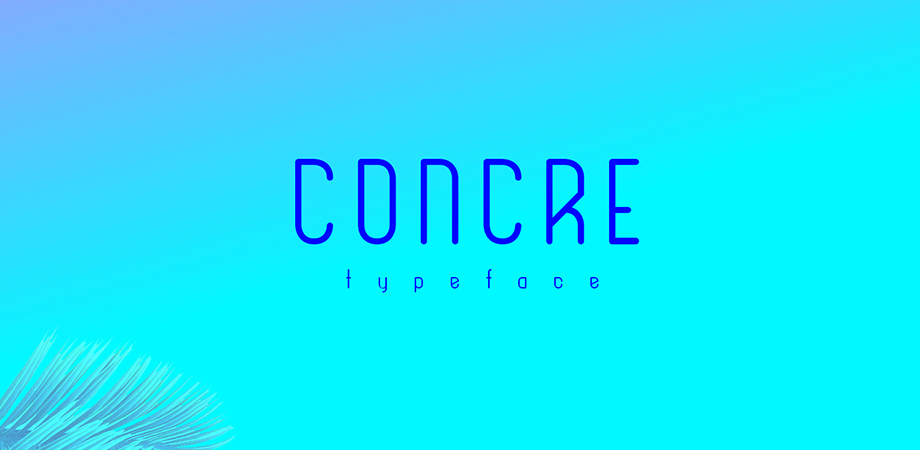concre-free-font