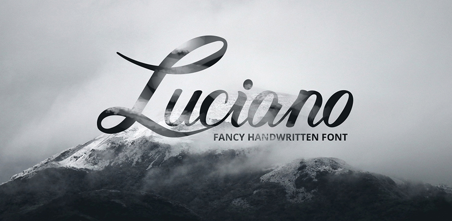 luciano-free-font