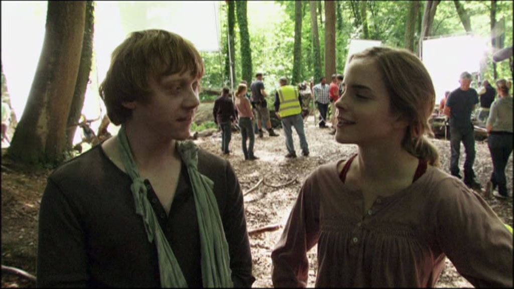 Rupert-grint-Emma-watson-set-harry-potter-cinema-cult