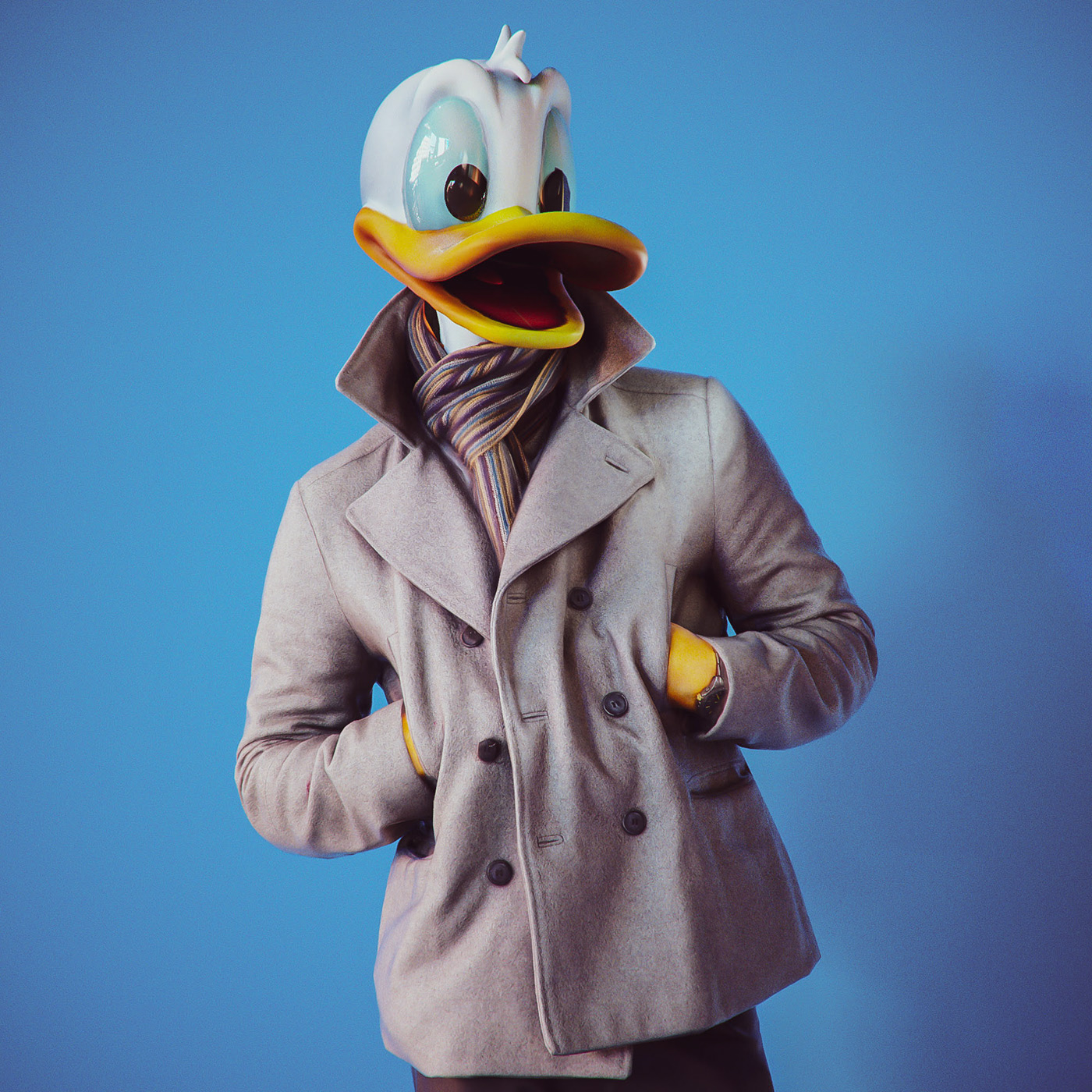 real-pato-donald